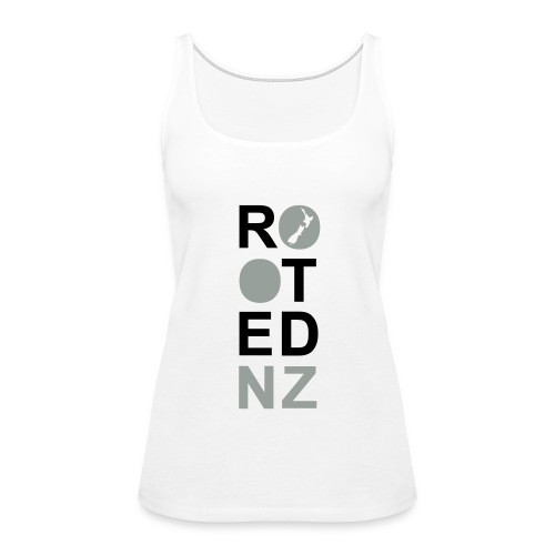 Rooted NZ PINK - Women's Premium Tank Top