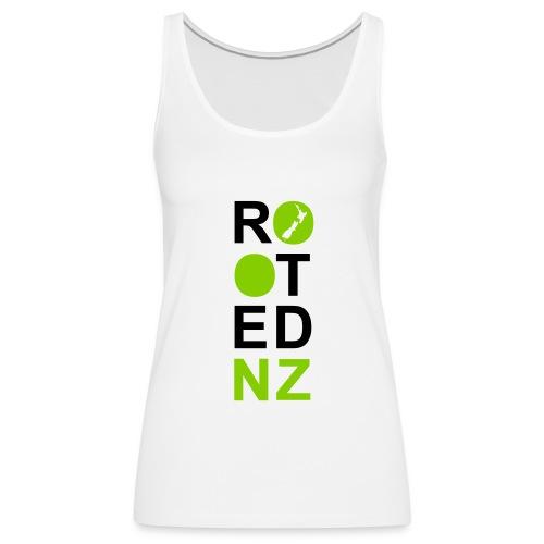 Rooted NZ GREEN - Women's Premium Tank Top