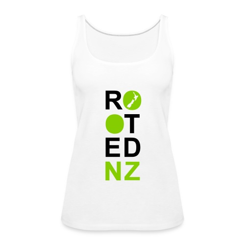 Rooted NZ GREEN - Women's Premium Tank Top