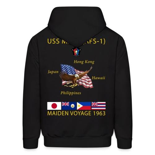 USS MARS 1963 MAIDEN CRUISE HOODIE - Men's Hoodie