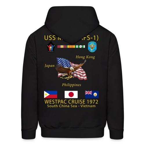 USS MARS 1972 CRUISE HOODIE - Men's Hoodie