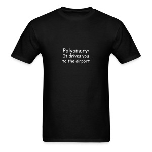 Poly Airport - Men's T-Shirt