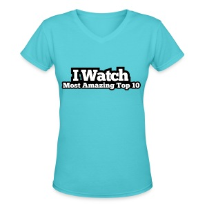 Women's V-Neck T-Shirt - Top 10  - Women's V-Neck T-Shirt