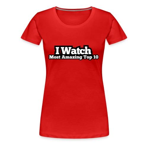 Women's Premium T-Shirt - Top 10  - Women's Premium T-Shirt
