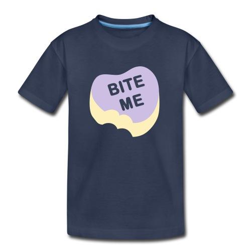 Kid's Bite Me T-Shirt - Toddler Premium T-Shirt
