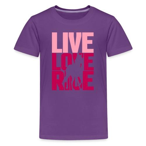 Kid's Live Love Ride T-Shirt - Kids' Premium T-Shirt