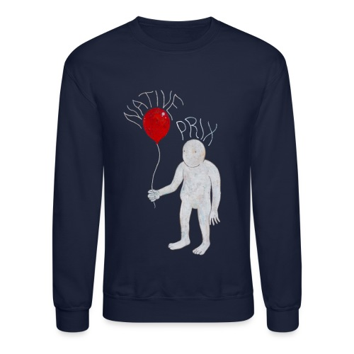 Sweatshirt - Navy - Crewneck Sweatshirt