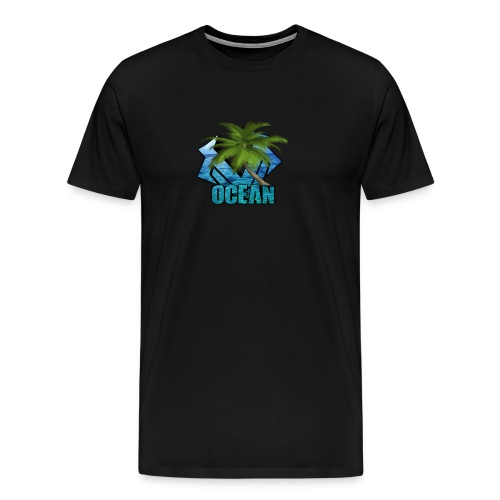Virge Ocean TShirt - Men's Premium T-Shirt