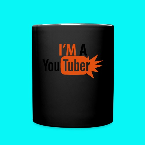 i'm a youtuber mug - Full Color Mug