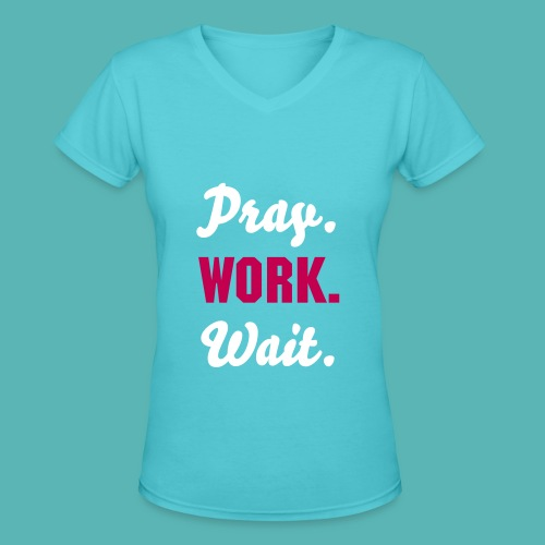Say's Keys To Life Tee  - Women's V-Neck T-Shirt