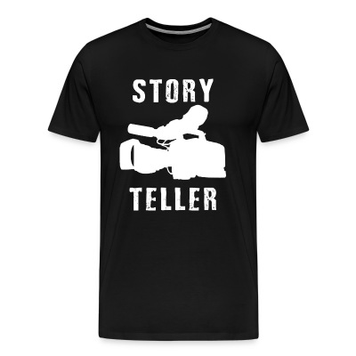 Storyteller (Premium Weight T-Shirt) - Men's Premium T-Shirt