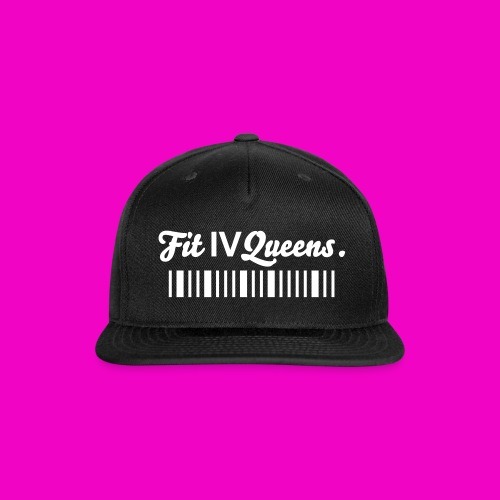 FIT for QUEENS SNAPBACK (CROWN)  - Snap-back Baseball Cap