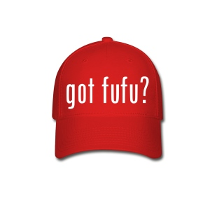 Womens Baseball Cap - Black - Got Fufu - Hot Pink - Baseball Cap