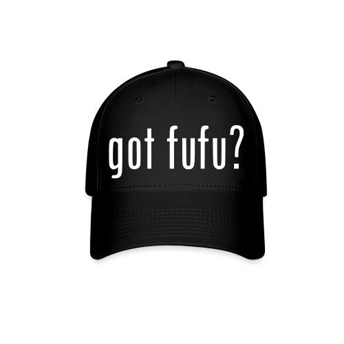 Womens Baseball Cap - Black - Got Fufu - Hot Pink - Baseball Cap