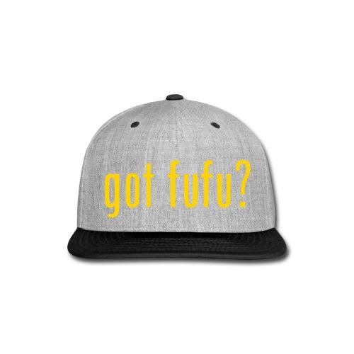 Accessories - Snapback Hat - Royal Blue - Got Fufu - Gold - Snap-back Baseball Cap