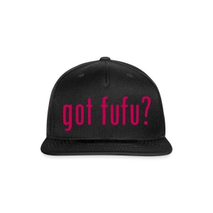 Accessories - Snapback Hat - Black - Got Fufu - Hot Pink - Snap-back Baseball Cap