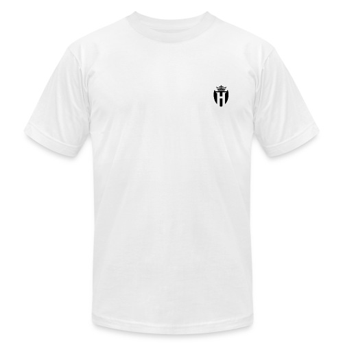 Horizon Plain T Shirt w/ Plain Black Shield (Slim Fit) - Men's Fine Jersey T-Shirt
