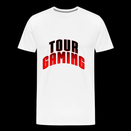 Tour White T w/ Text - Men's Premium T-Shirt