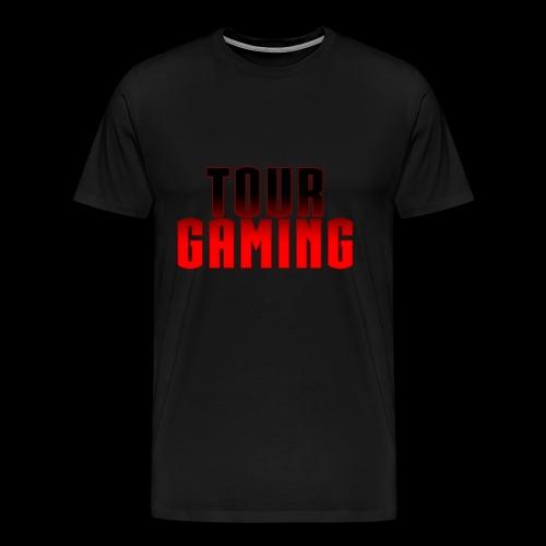 Tour Black T w/ Text - Men's Premium T-Shirt