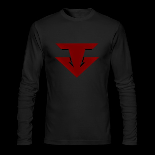 Tour Long Sleeve T w/ Gray Logo - Men's Long Sleeve T-Shirt by Next Level