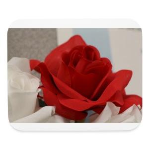 Passionate Rose - Mouse pad Horizontal