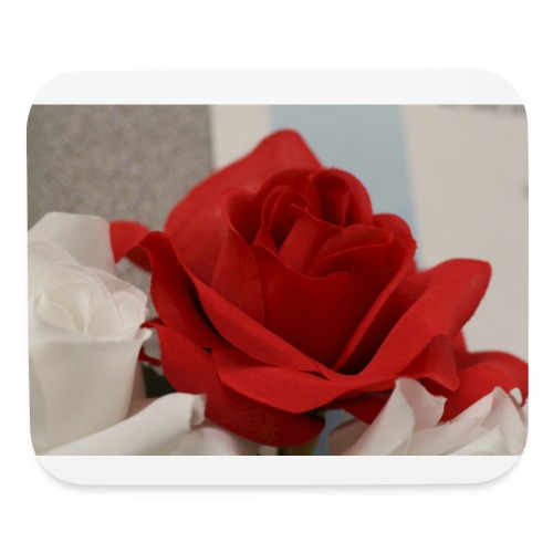 Passionate Rose - Mouse pad Horizontal