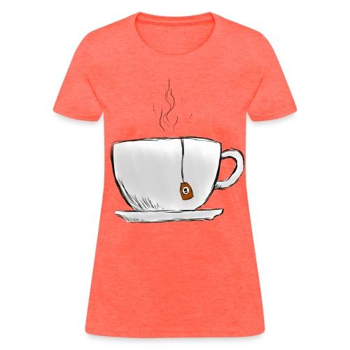 Women's Grey Tea Shirt - Women's T-Shirt