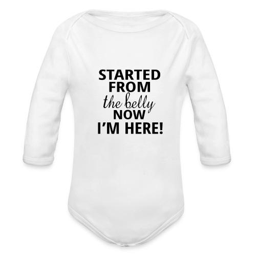 Drake Baby Winter Bodysuit - Organic Long Sleeve Baby Bodysuit