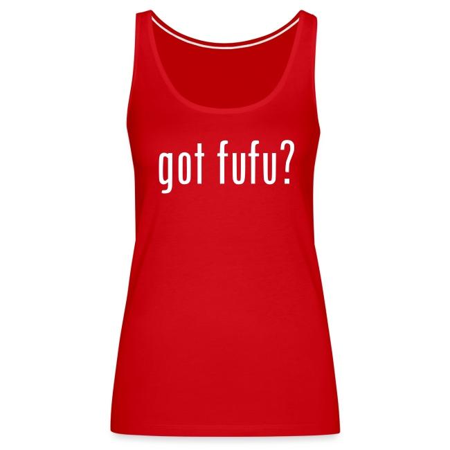 Ladies - Tank-gotfufu-GreedyFace-Red-Black