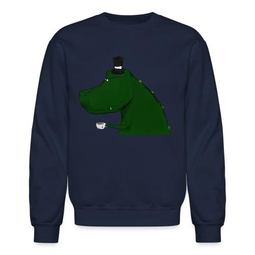 Top Hat T-Rex Sweat Shirt - Crewneck Sweatshirt