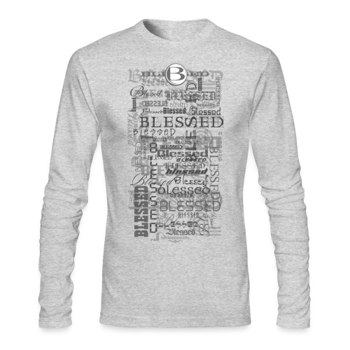 Men's Long Sleeve  Blessed T-Shirt  - Men's Long Sleeve T-Shirt by Next Level