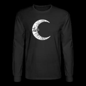 Moon Long Sleeve Tee - Men's Long Sleeve T-Shirt