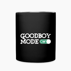 Goodboy Mode On Mugs & Drinkware