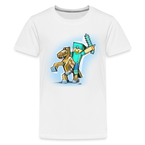 Minecraft Rocks! - Kids' Premium T-Shirt