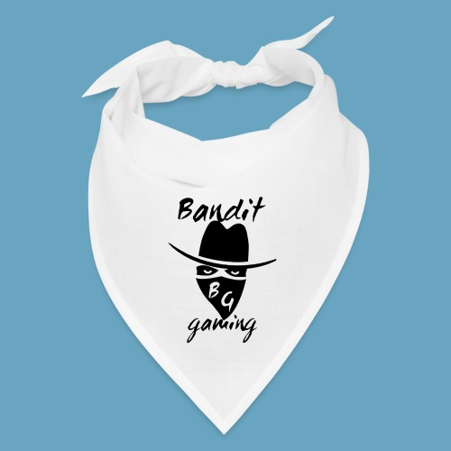 BanditGaming White Bandana with Logo - Bandana