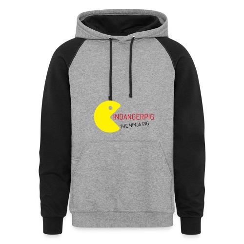 indangerpig hoodie - Colorblock Hoodie
