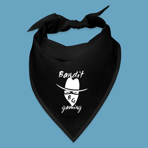 BanditGaming Black Bandana with white logo - Bandana