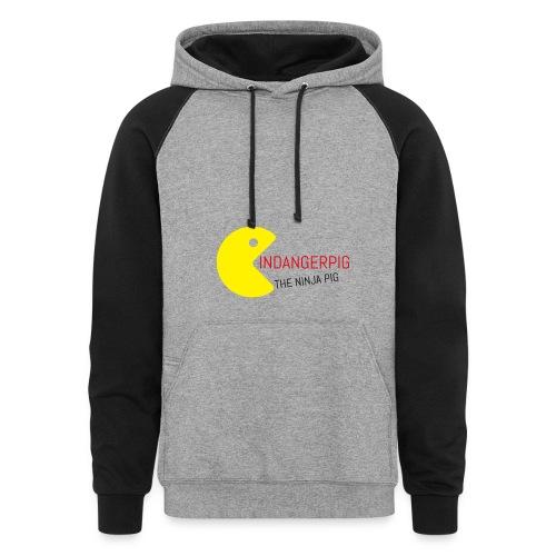 womens hoodie - Colorblock Hoodie