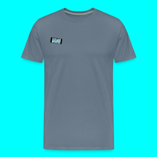 Small Apple iPhone Logo T-Shirt - Men's Premium T-Shirt