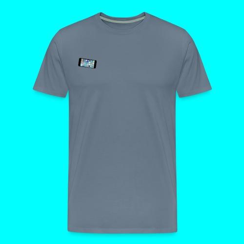 Small Apple iPhone Logo T-Shirt - Men's Premium T-Shirt