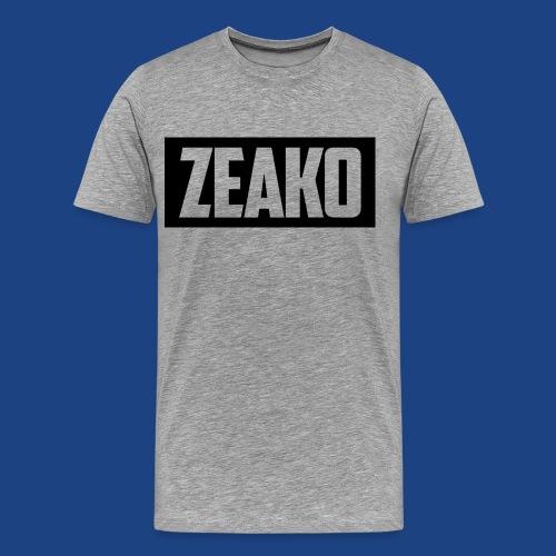 Zeako Graphic Tee - Men's Premium T-Shirt