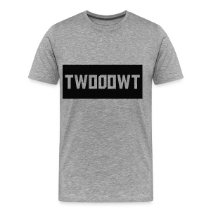 Two0owT Logo - Men's Premium T-Shirt