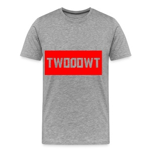 Two0owT Red Logo - Men's Premium T-Shirt