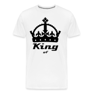 T-Shirts ~ Men's Premium T-Shirt ~ King Crown