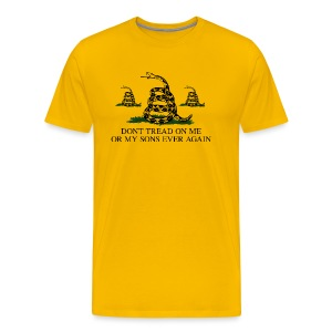 Don't Tread on My Sons (Men) - Men's Premium T-Shirt