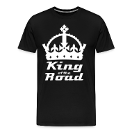 T-Shirts ~ Men's Premium T-Shirt ~ King of the Road