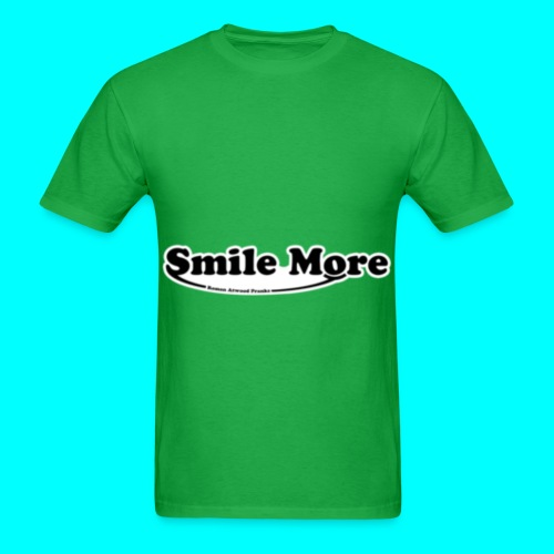 Roman Atwood Smile More Logo Tee - Men's T-Shirt