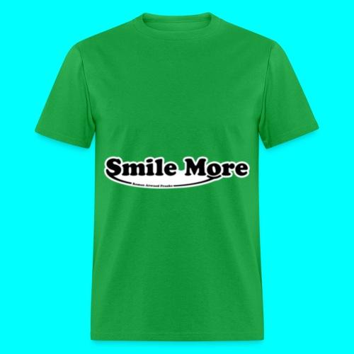 Roman Atwood Smile More Logo Tee - Men's T-Shirt