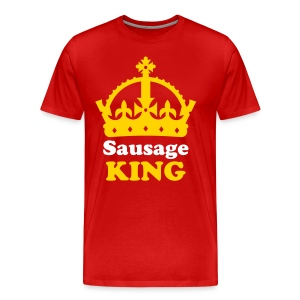 Sausage King! - Men's Premium T-Shirt