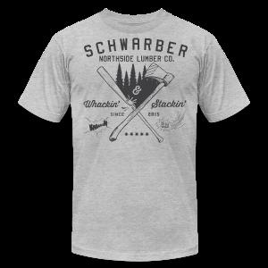Schwarber Lumber Co - Men's Fine Jersey T-Shirt